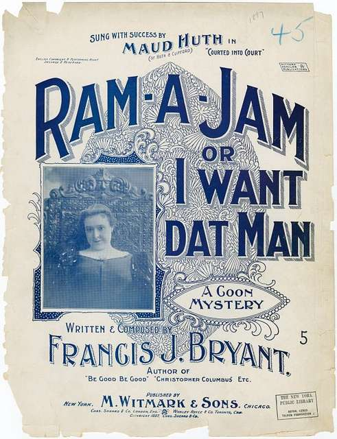 Ram a jam, or, I want dat man