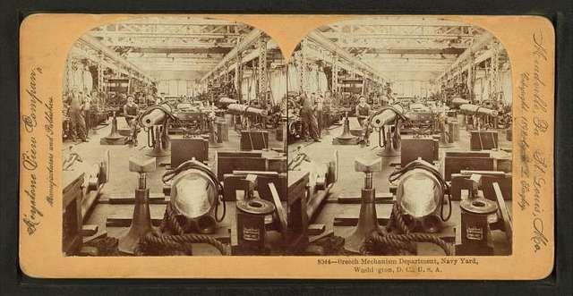 Breech Mechanism Department (Navy Yard), Washington, D.C., U.S.A.