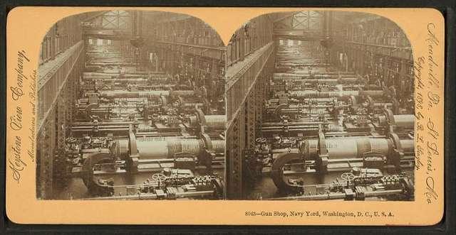Gun Shop, Navy Yard, Washignton, D.C., U.S.A.