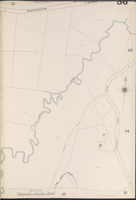 Bronx, V. A, Plate No. 56 [Map bounded by Westchester Turnpike, Clauson's Point Rd.]