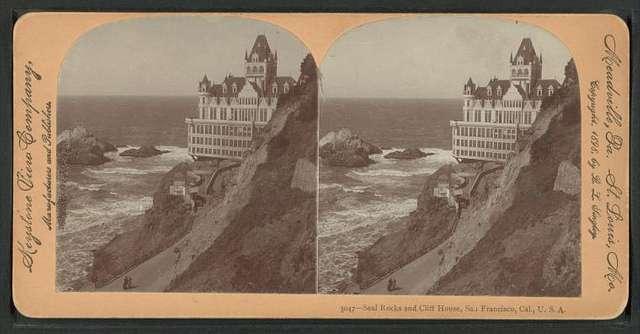 Seal Rocks and Cliff House, San Francisco, Cal.