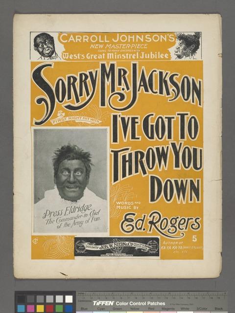 Sorry, Mr. Jackson, I've got to throw you down
