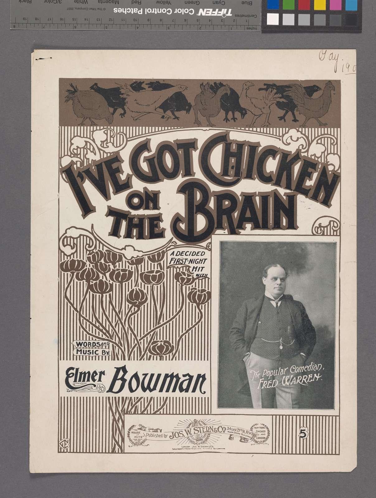 I've got chicken on the brain