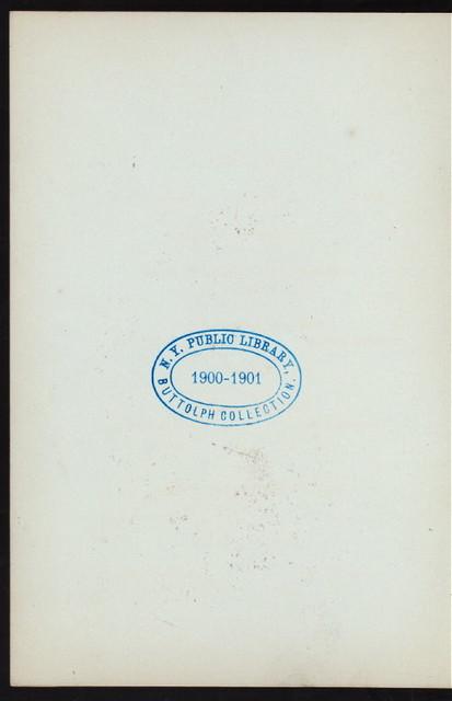 """FESTESSEN ZU EHREN DES 70 GEBURTSTAGES VON CARL SCHURZ [held by] HERVORRAGENDSTEN NEW YORKER VEREINE [at] """"HALLE DES DEUTSCHEN LIEDERKRANZ, NEW YORK, NY"""" (OTHER (HALL);)"""