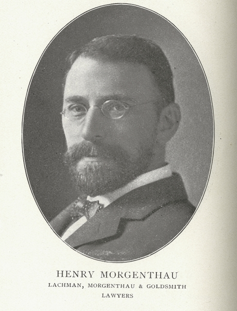 Henry Morgenthau, lawyer