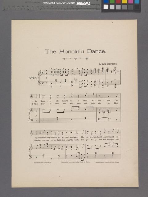 Honolulu dance