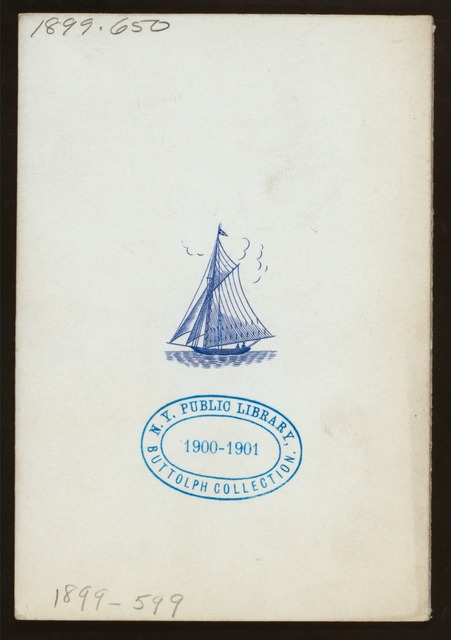 "LUNCH - AMERICA'S CUP RACES [held by] NEW YORK YACHT CLUB [at] ""STEAMER """"REPUBLIC"""""" (SS;)"