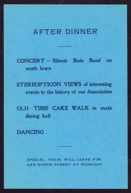 LUNCHEON TO HOTEL MEN'S MUTUAL BENEFIT ASSOCIATION [held by] HOTEL MEN'S MUTUAL BENEFIT AASOCIATION [at] CHICAGO BEACH HOTEL (HOTEL;)