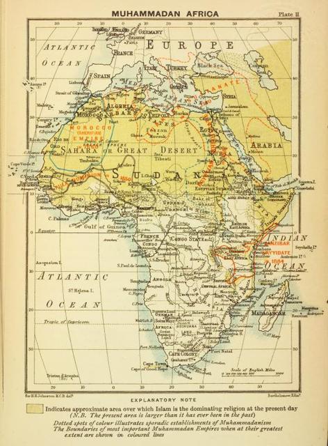 Muhammadan Africa.