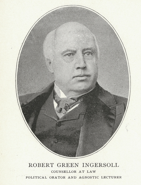 Robert Green Ingersoll, Counsellor at Law