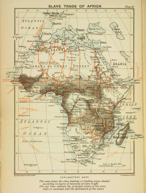 Slave trade of Africa.