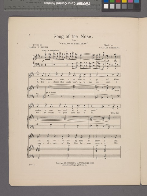 Song of the nose