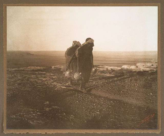 Hopi water carriers.