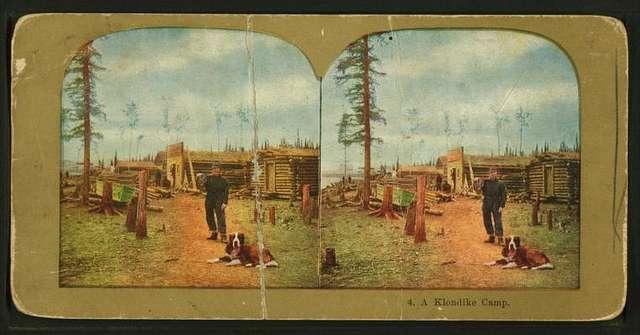 A Klondike camp.