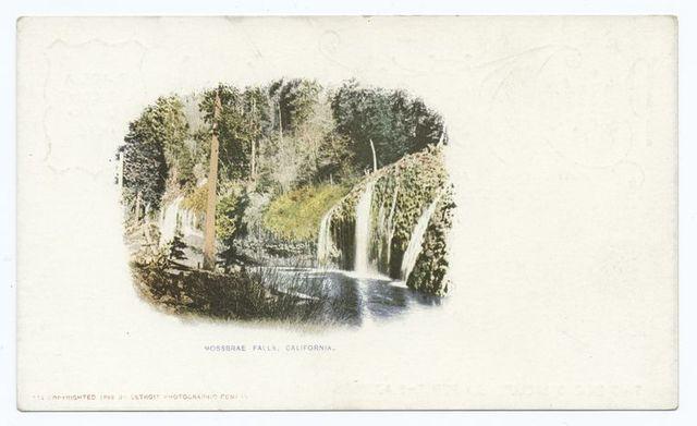 Mossbrae Falls, Mt. Shasta, Calif.