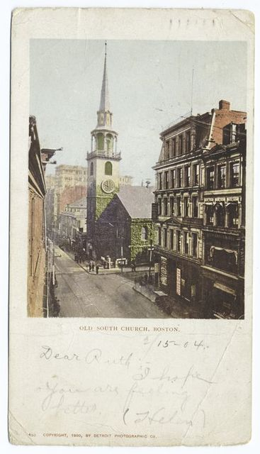 Old South Church, Boston Mass.
