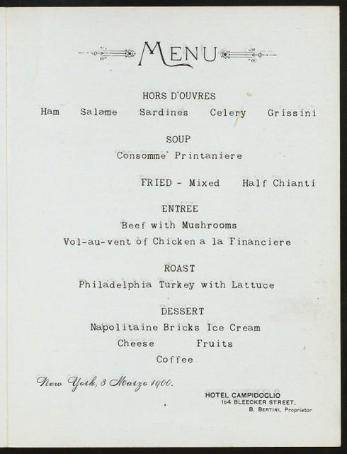 "SIXTH ANNUAL BANQUET & BALL [held by] LEGGERA ASSOCIATION [at] ""CAMPIDOGLIO HOTEL, NEW YORK, NY"" (HOTEL;)"