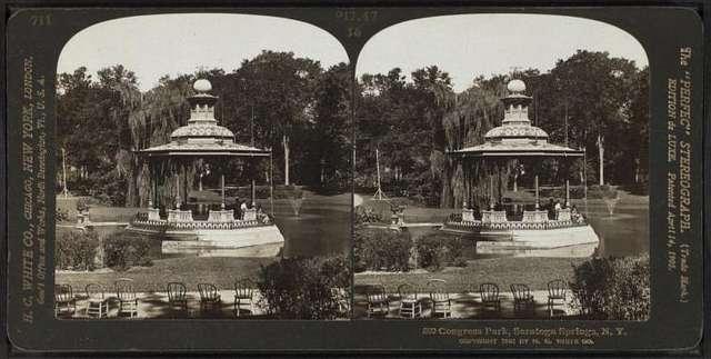 Congress Park, Sartoga Springs, N.Y.