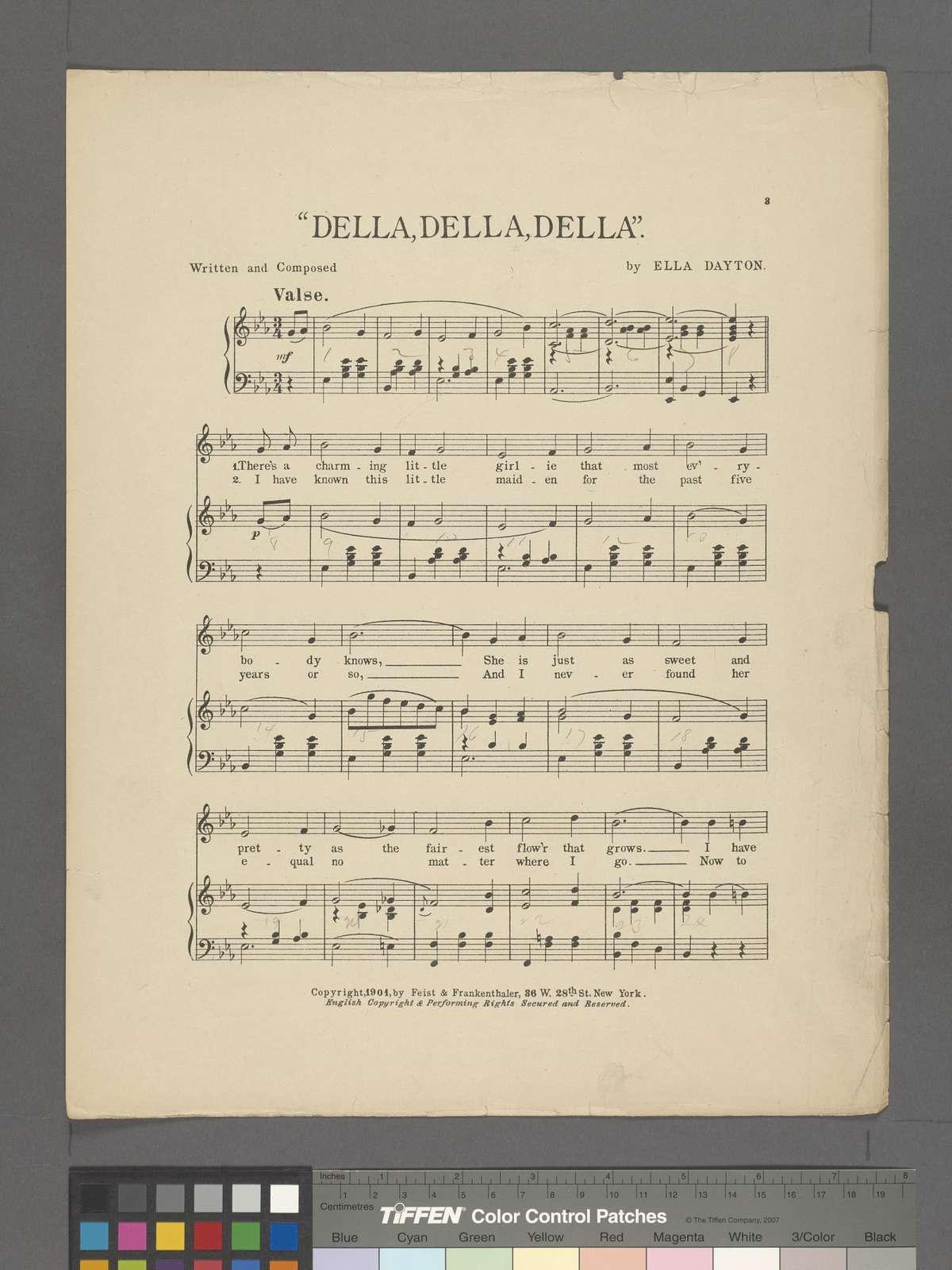 Della, Della, Della