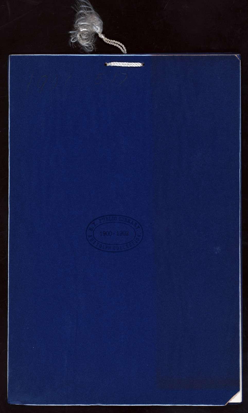 "GEORGE WASHINGTON'S BIRTHDAY DINNER [held by] FELLOWSHIP CLUB [at] ""FLANDERS HOTEL, PHILADELPHIA, PA"" (HOTEL;)"