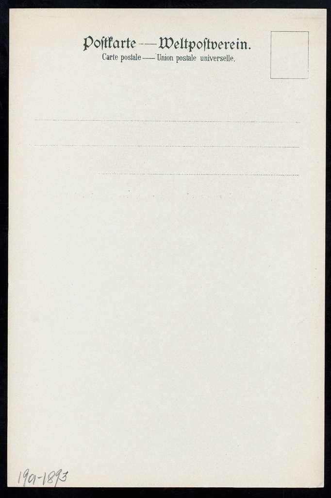 LUNCH [held by] NORDDEUTSCHER LLOYD BREMEN [at] SS FRIEDRICH DER GROSSE (SS;)