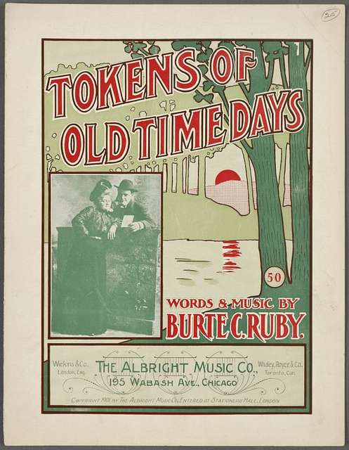 Tokens of old time days