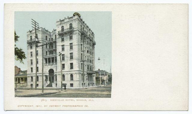 Bienville Hotel, Mobile, Ala.
