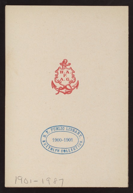 BREAKFAST [held by] HAMBURG-AMERIKA LINIE - STEAMER FURST BISMARCK [at] EN ROUTE (SS)