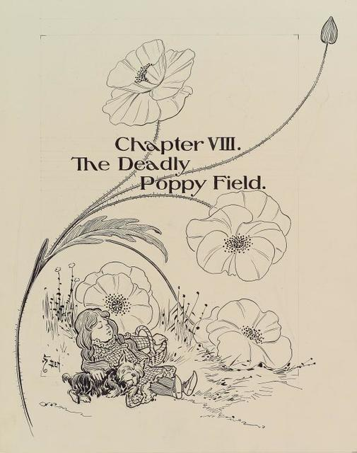 "Chapter VIII. ""The Deadly Poppy Field."""