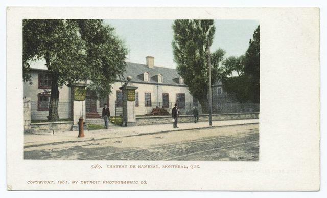 Chateau de Ramezay, Montreal, Que.