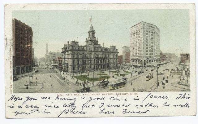 City Hall, Campus Martinus, Detroit Mich.