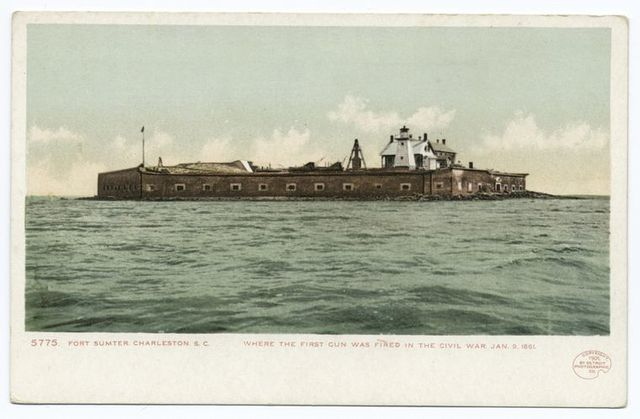 Fort Sumter, Charleston S. C.