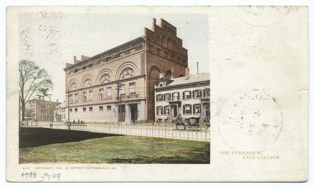 Gymnasium, Yale Coll., New Haven, Conn.