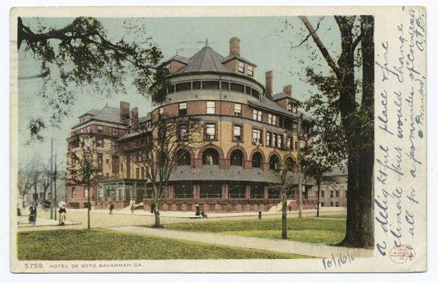 Hotel DeSoto, Savannah, Ga.