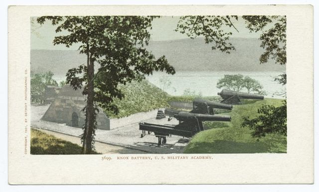 Knox Battery, U. S. Millirary Academy