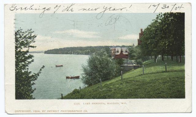 Lake Mendota, Madison, Wisc.