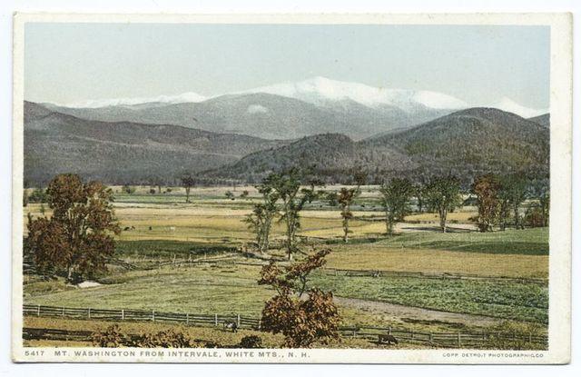 Mt. Washington from Intervale, White Mountains, N. H.
