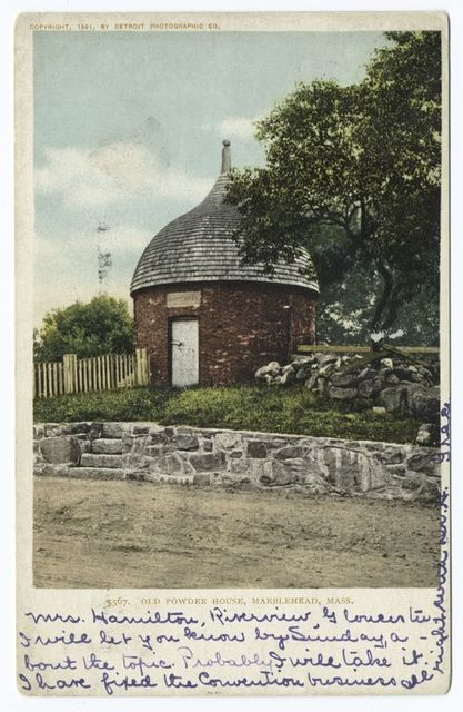 Old Powder House, Marblehead, Mass.