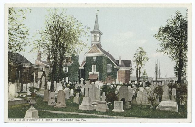 Old Swede's Church, Philadelphia, Pa.