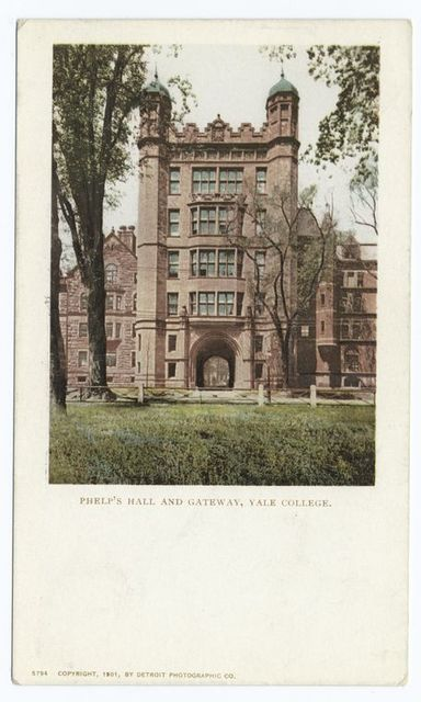 Phelps Hall and Gateway, Yale Coll., New Haven, Conn.