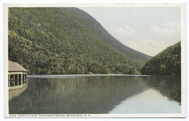 Profile Lake, Franconia Notch, White Mts, N. H.