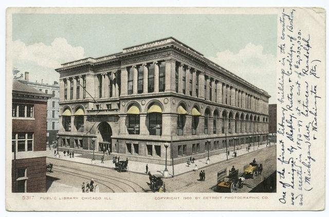 Public Library, Chicago, Ill.
