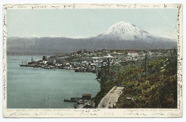 Tacoma and Mt. Tacoma, Tacoma, Washington.