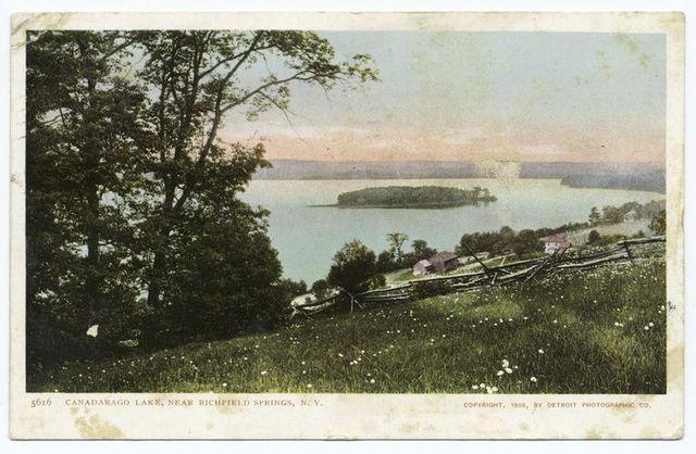 The Canandarago Lake, Richfield Springs, N. Y.