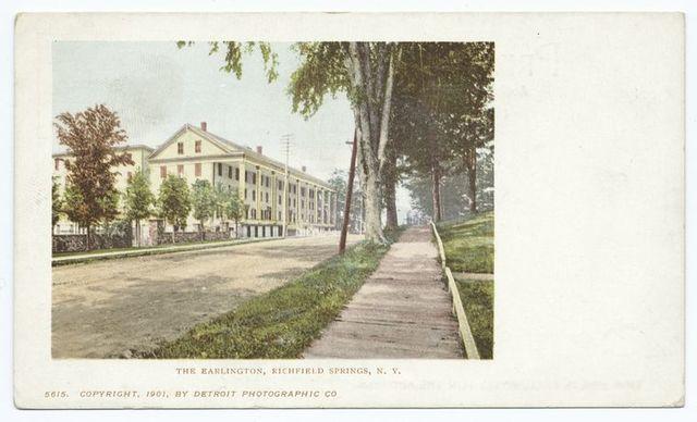 The Earlington, Richfield Springs, N. Y.