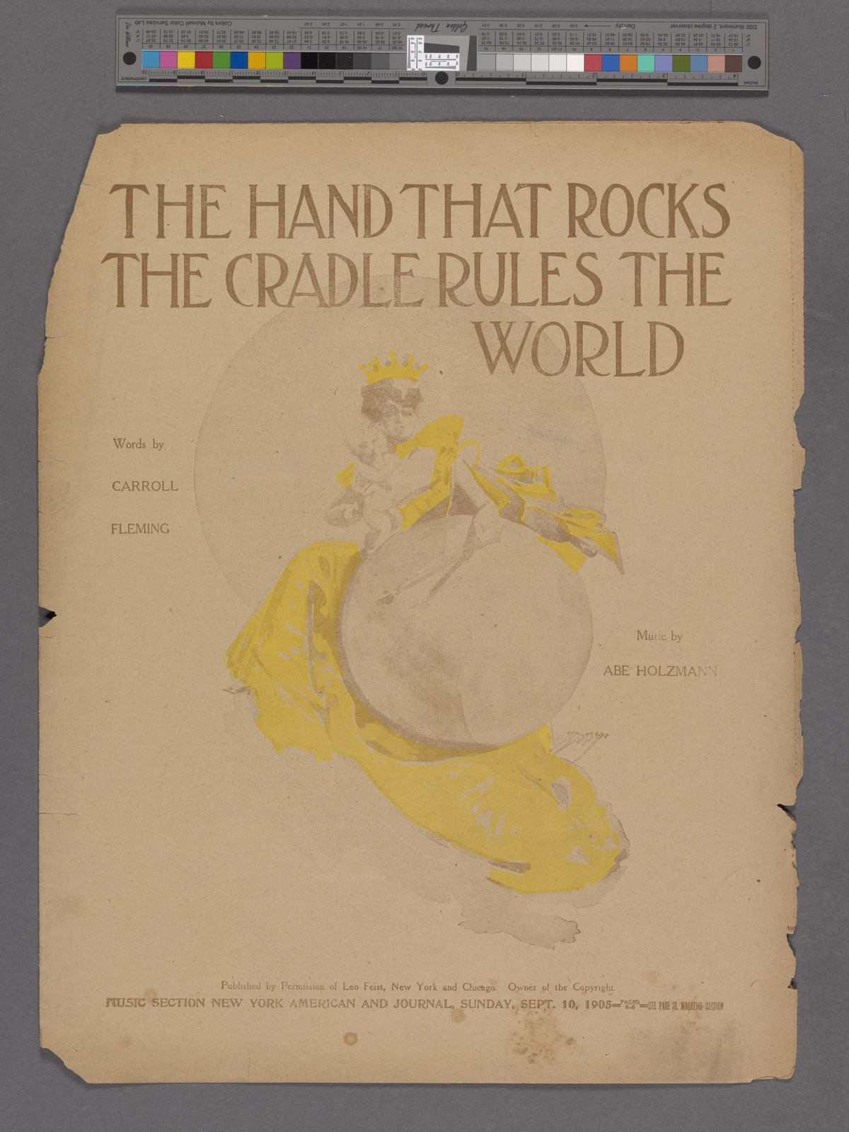 The hand that rocks the cradle rules the world