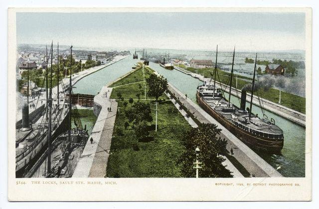 The Locks, Sault Ste. Marie, Mich.