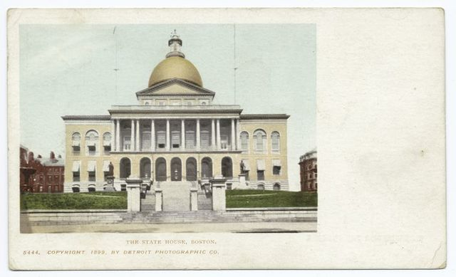 The State House, Boston, Mass.
