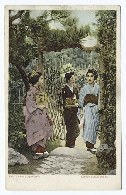 At the Garden Gate, Japanese