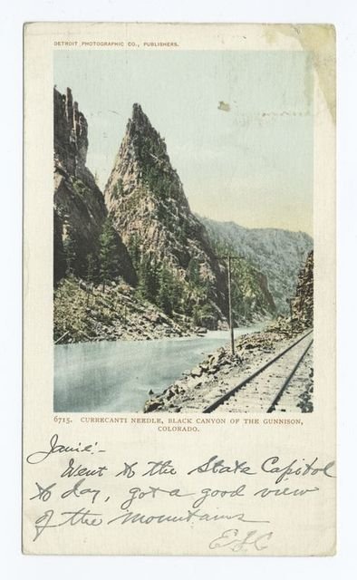 Black Canyon of the Gunnison, Currecanti Needle, Colo.
